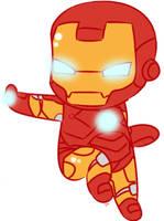 Chibi Iron Man by Niji-Panda