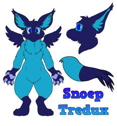 Snoep Tredux Ref Sheet by C4theSlime