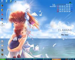 CLANNAD desktop by Leorio-kun