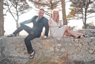 Wedding in the sun by gtgv