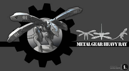 Metal Gear Heavy Ray by gtgv