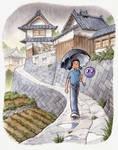 'Rainy Day in Fukuyama' by markcrilley
