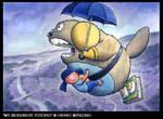 'Beeba Totoro' by markcrilley