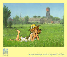 Miki on a Summer Day by markcrilley