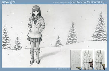 Snow Girl by markcrilley