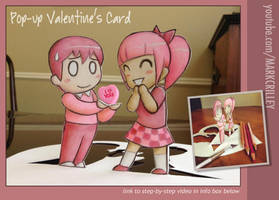 Pop Up Valentine's Card by markcrilley