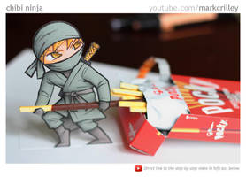 Chibi Ninja by markcrilley
