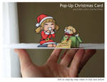 Pop-Up Christmas Card by markcrilley
