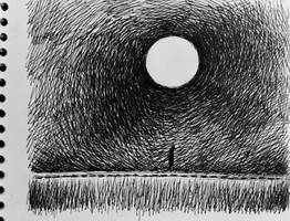 Long Walk, Moonlit Night  by markcrilley