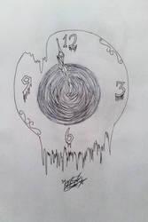 Inktober Day 14 - Clock by Mephisto123456789