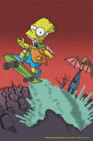 Bart Out of Hell by TheFightingMongooses