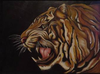Tiger by Kristen-Grunewald