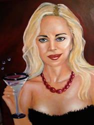 Self Portrait by Kristen-Grunewald