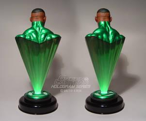Green Lantern Hologram Series - John Stewart back by No-Sign-of-Sanity