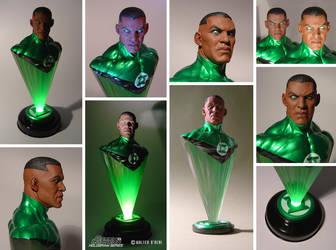 Green Lantern Hologram Series - John Stewart multi by No-Sign-of-Sanity