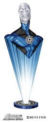 Hologram Series - Blue Lantern Saint Walker by No-Sign-of-Sanity