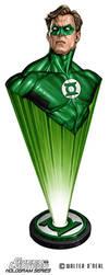 Hologram Series - Green Lantern Hal Jordan by No-Sign-of-Sanity