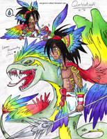 Quetzalcoatl by jeruru-edmari