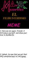 El filibusterismo meme BLANK by AteMozzarella