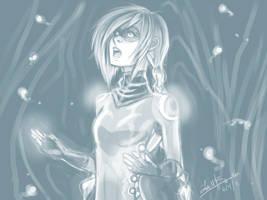 Random drawing 3 by Uty-Bacalaito