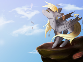Derpy Hooves by DasherMeow
