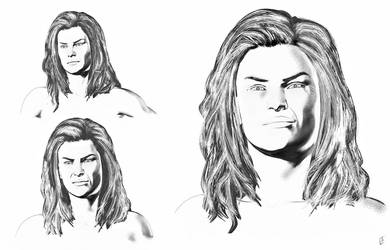 Ronnie Concept Sketch 1 by LJ-Phillips