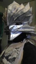 Karas Armor Progress! by FengWindChild