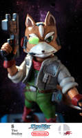 Fox - Close-up by Zavellart