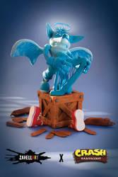 Crushed Bandicoot by Zavellart