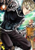 One Punch Man by Sh0tisha