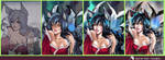 Ahri - step by step by Sh0tisha
