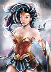 Wonder Woman *^* by Sh0tisha