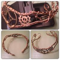Wirework Bracelet by SilverEmeralds