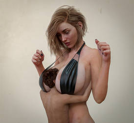 Between Her Breasts by Flagg3D