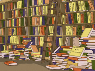 Library #1 by Nephle