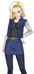 Android C18 - original clothing by Nephle