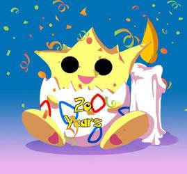 pokemon birthday by Cannelle-dessins