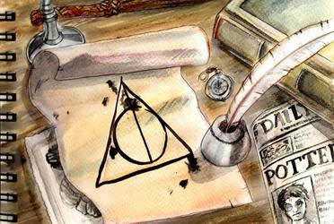 harry potter fan art by Cannelle-dessins