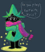 Get memed on all you ralsei fans by Mysticwaffle032