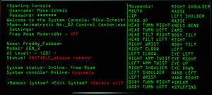 Freddy's System Console - Alpha by FreddyFredbear