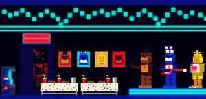 Freddy's Wonderland - Dining Area (Arcade) by FreddyFredbear