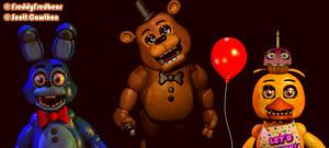 Prototype toy animatronics by FreddyFredbear