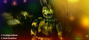 Withered Spring Bonnie by FreddyFredbear