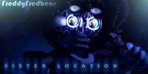 FNAF Sister Location - Baby (without mask) by FreddyFredbear