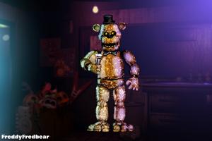Chrome Freddy (Unreleased) by FreddyFredbear