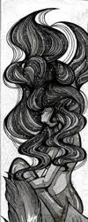 Grey Mermaid 4 by silvia911