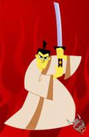 Samurai Jack by nachomoo