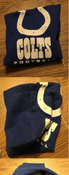 Indianapolis Colts Pouch by SmilingY