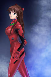 Soryu Asuka Langley by S20K00Y