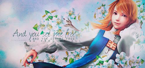 You set me free [Outcome] by TifaxxLockhart